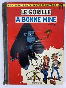 1959 LE GORILLE A BONNE MINE 11 DEUX AVENTURES DE SPIROU & FANTASIO EO FRANQUIN