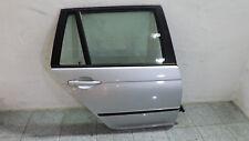 BMW E46 Touring Tür hinten rechts in Titansilbermetallic mit Glasscheibe
