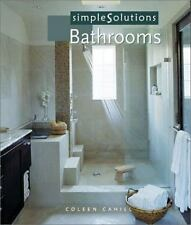 Simple Solutions: Bathrooms by Cahill, Coleen