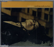 MADONNA - NOTHING REALLY MATTERS / REMIXES 1998 UK CD SINGLE PART 2 W471CD2