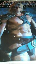 Masters of the Universe Dolph Lundgren Laminated 1987 Movie Poster Vintage MOTU