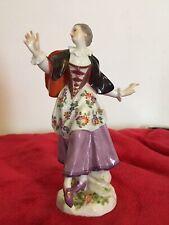 Meissen - figurine en porcelaine de Meissen (danseuse) -état presque parfait