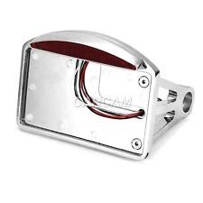Chrome Mount License Plate Tail Light For Kawasaki Vulcan Classic Limited 2000