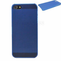 Ultra Slim Hard Matte Cell Phone Snap On Cover Case For Apple iPhone 5 5G 5S