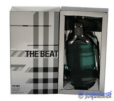 BURBERRY THE BEAT 3.4/3.3 OZ EDT SPRAY FOR MEN BY BURBERRY & NEW IN A BOX