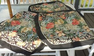 Waverly Custm Slipcovrs 2Sets +1 Cover Grt For Wickr + Fabric Lngth Sew Covers