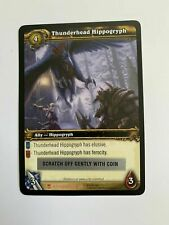 WOW World of Warcraft TCG Loot Card Thunderhead Hippogryph New Hatchling Pet