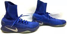 Nike Hyperdunk 2016 Flyknit Royal Blue Grey Basketball Shoes Size: US 13
