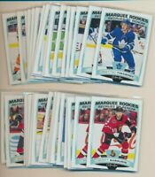 2019-20 O-Pee-Chee Marquee Rookie LOT OF 10 CARDS