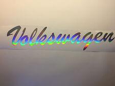 Frontscheibenaufkleber MK Volkswagen 55cm Sticker i love my Volkswagen love golf