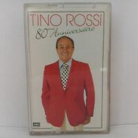Tino Rossi – 80 Eme Anniversaire Label: EMI – (Cassette Audio - K7 - Tape)