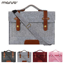 Laptop Felt Shoulder Bag for Macbook Air Pro 13 15.6 Notebook Dell Acer Asus hp