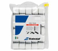 Babolat Pro Tour Tennis Racket Over Grip Racquet White 30 PCS Tacky 657002