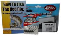Ned Rig Kit - Z-Man Finesse T.R.D. & Finesse Shroomz Jig Heads & How-To Guide