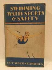 1938 First Print 4 Addition Swimming Water Sports Safety Boy Scouts of America