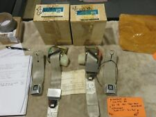 1982 CE Collector's Edition C3 Seat Belt Assemblies (Set) #14045035/6--NCRS!