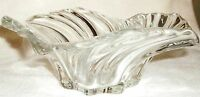 New in Box Mikasa Belle Epoque Art Glass 8 inch Centerpiece Bowl Retired Germany