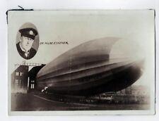 1930s GRAF ZEPPELIN Airship BLIMP Dr Hugo Eckener ORIGINAL PHOTO Photograph