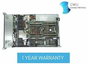 "HP Server DL160 Gen9 8 SFF 2x E5-2660 v3 256GB Ram 6x 480GB SATA 2.5"" SSD"