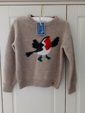 JOULES KNITWEAR CHRISTMAS JUMPER 6 YEARS NWT