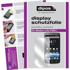 6x dipos Medion Life P5001 Aldi klare Displayschutzfolie Crystalclear unsichtbar
