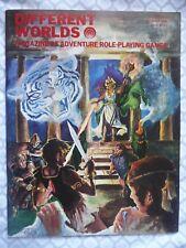 DIFFERENT WORLDS #9 (Chaosium 1980) Ogre/Traveller/D&D/RuneQuest • NM/Unused!