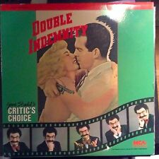 Double Indemnity - Laserdisc - Buy 6 for free shipping