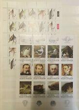 Thématique, Blocs de timbres neufs MNH, bien
