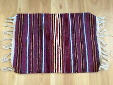 Pleasant Company American Girl Josefina doll striped fringed blanket bedding 97