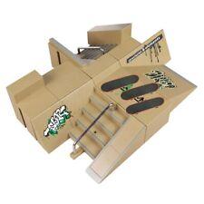 Skate Park Ramp For Tech Deck Fingerboard Finger Board Ultimate Parks Toys Gift