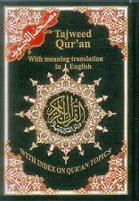 Tajweed Quran with Meanings Translation in English