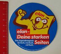 Aufkleber/Sticker: elan - Deine starken Seiten - Jugendmagazin (080517137)