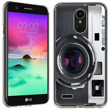 for LG Stylo 3 (Vintage SLR Camera)Clear TPU gel skin phone case cover