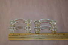Set Of 4 Glass Cabinet Pulls Drawer Handle s#1908