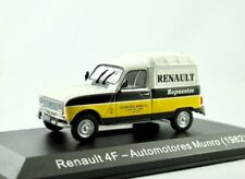 Renault RF Kastenwagen  1982  weiss/gelb/schwarz    /    IXO/Altaya   1:43