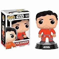 STAR WARS VII the force awaken FUNKO POP Figurine POE DAMERON JUMPSUIT 9 cm