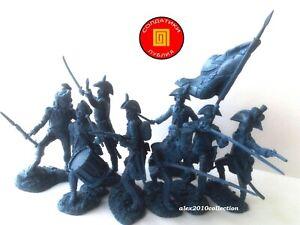 NEW! PUBLIUS-French Revolutionary-NapoleonicWars,8 rubber plastic soldiers 1:32