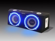 "Sondpex 8"" 2-Way Speaker Box with Neon Ring BB02080 (REFURBISHED)"