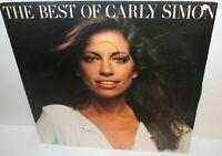 The Best Of Carly Simon LP Vinyl Record Album 7E-1048 Elektra 1975