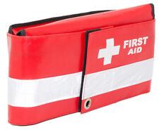 Multi Fold Red Wipe Down Emergency Paramedic First Aid Bum Bag (Dura Bag)