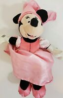 Walt Disney Minnie Mouse Princess Minnie Pink Satin Dress Plush Stuffed Doll Toy