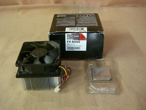 AMD FX-8350 4.0GHz 8 Core AM3 Processor (FD8350FRW8KHK) Black Edition Heatsink