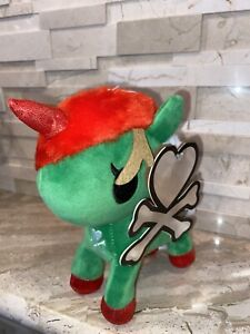 NWT Tokidoki Holly Unicorno New Plush Holiday Christmas Figure Toy
