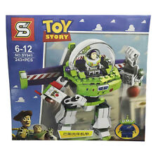 Disney Toy Story Buzz Lightyear Action Figures Doll Building Blocks Game Kid Toy