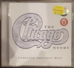 THE CHICAGO STORY - VERY RARE DELETED CD SOUNDTRACK COMPLETE GREATEST HITS MUSIC