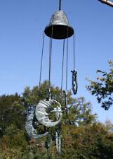 Dekoration Windspiel Klangspiel Bronzeskulptur Sonnenmotiv
