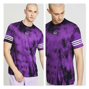 ADIDAS Mens Size M Space Dyed  Jersey Tee Shirt