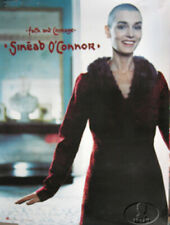 SINEAD O'CONNOR 2000 FAITH & COURAGE PROMO POSTER