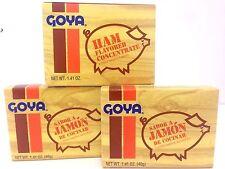 GOYA SABOR A JAMON DE COCINAR - HAM FLAVOR CONCENTRATE 1.41 OZ 3 PACK