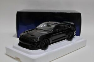FORD SHELBY GT-350R Shadow Black Rare New 72934 AutoArt 1/18